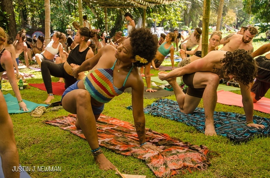 Envision Festival Costa Rica -yoga