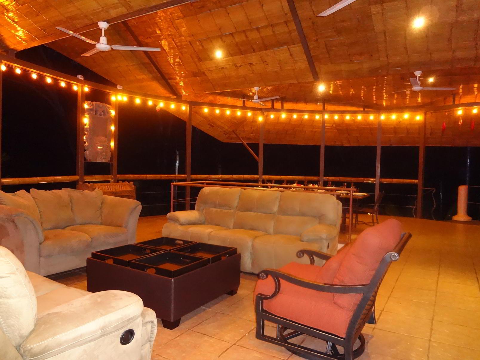 Balcony Lounge Night