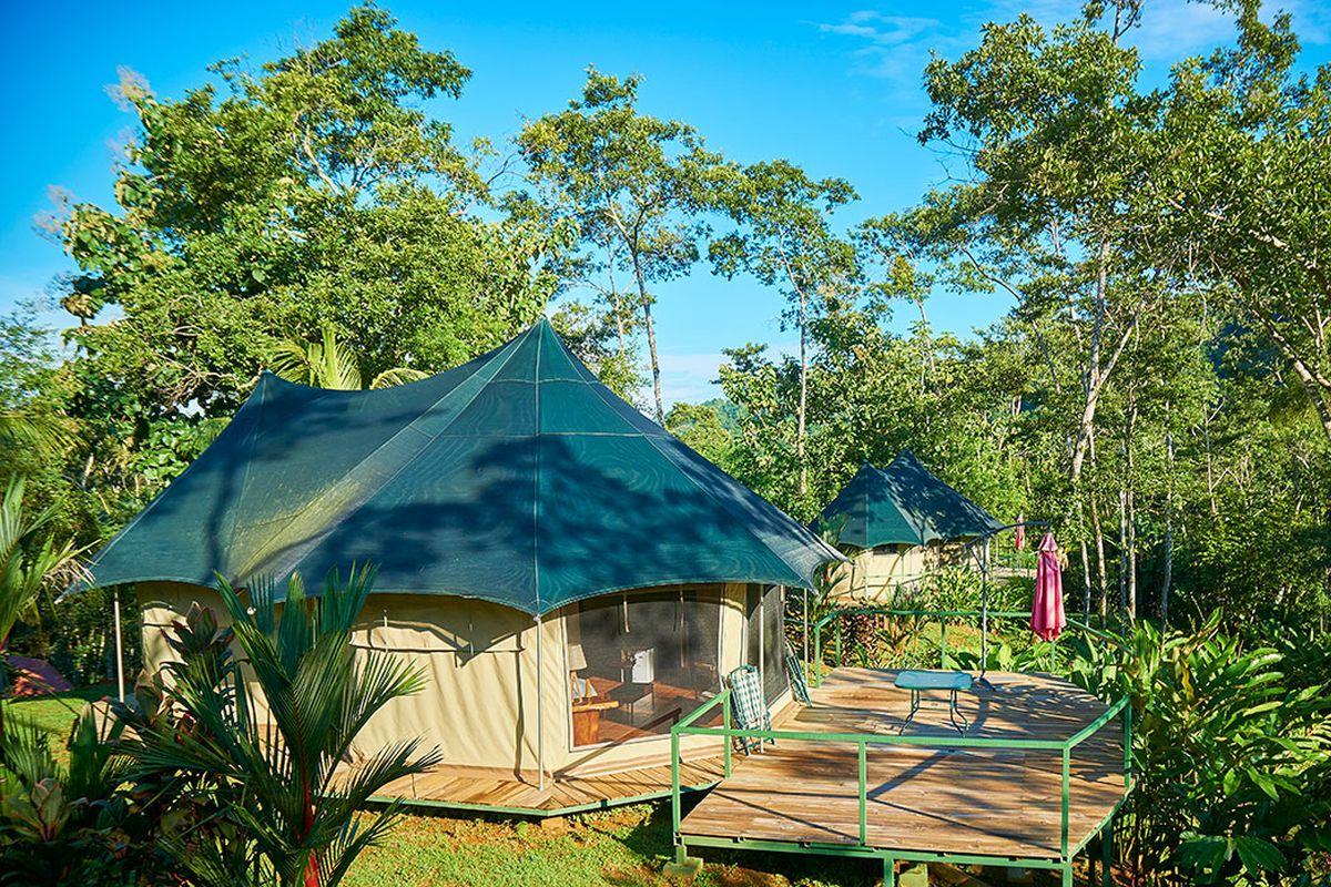 Manoas Luxury Camping, Uvita Hotel, Costa Rica, carpas (2)