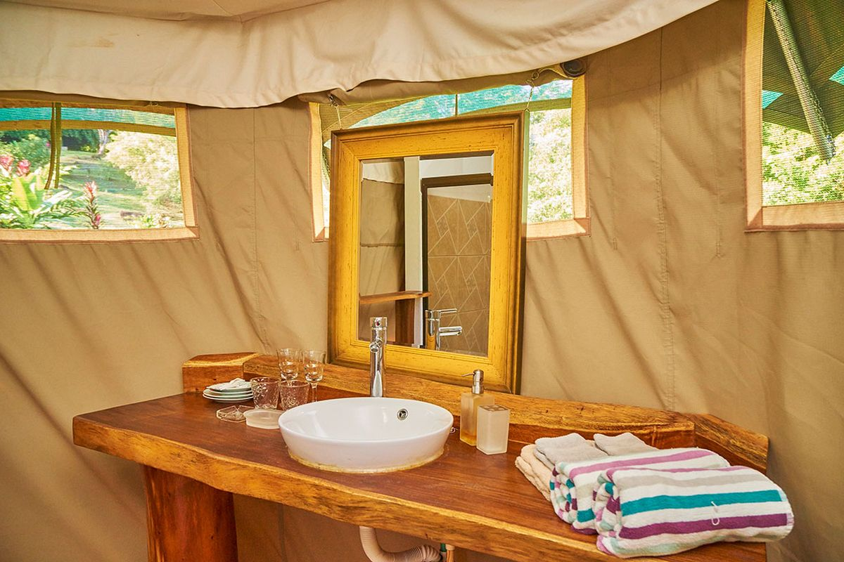 Manoas Luxury Camping, Uvita Hotel, Costa Rica, carpas (7)