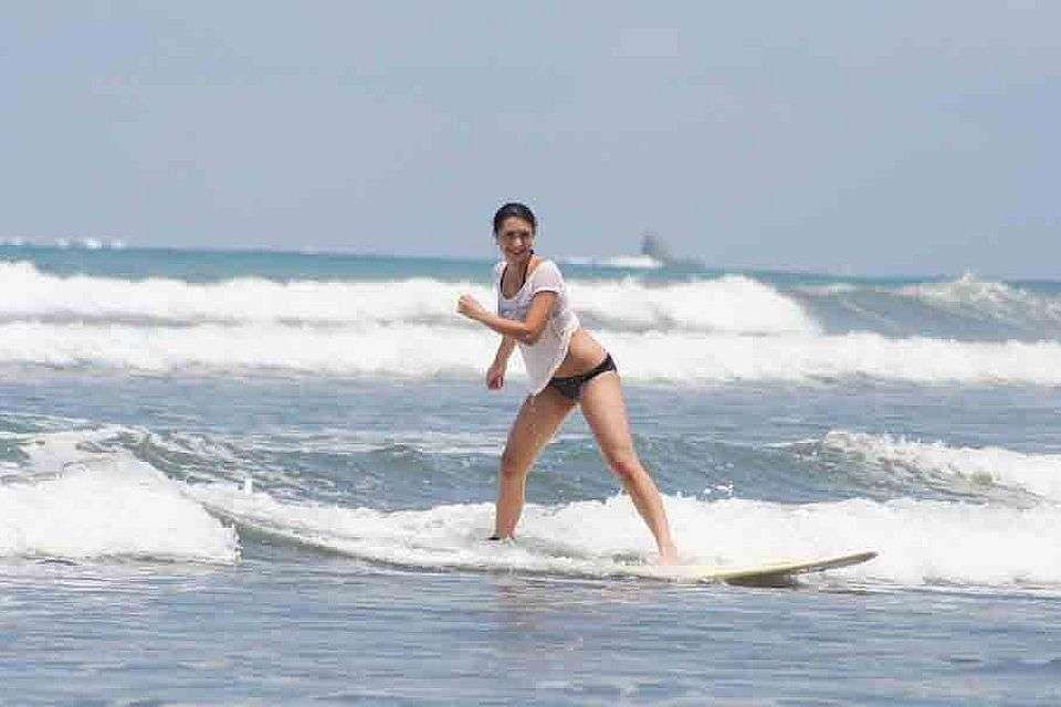 Tabla de mareas, surf in costa ballena, Die Gezeite