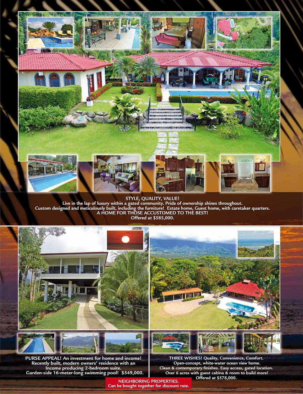 We Sell Paradise, real estate South Pacific Costa Rica