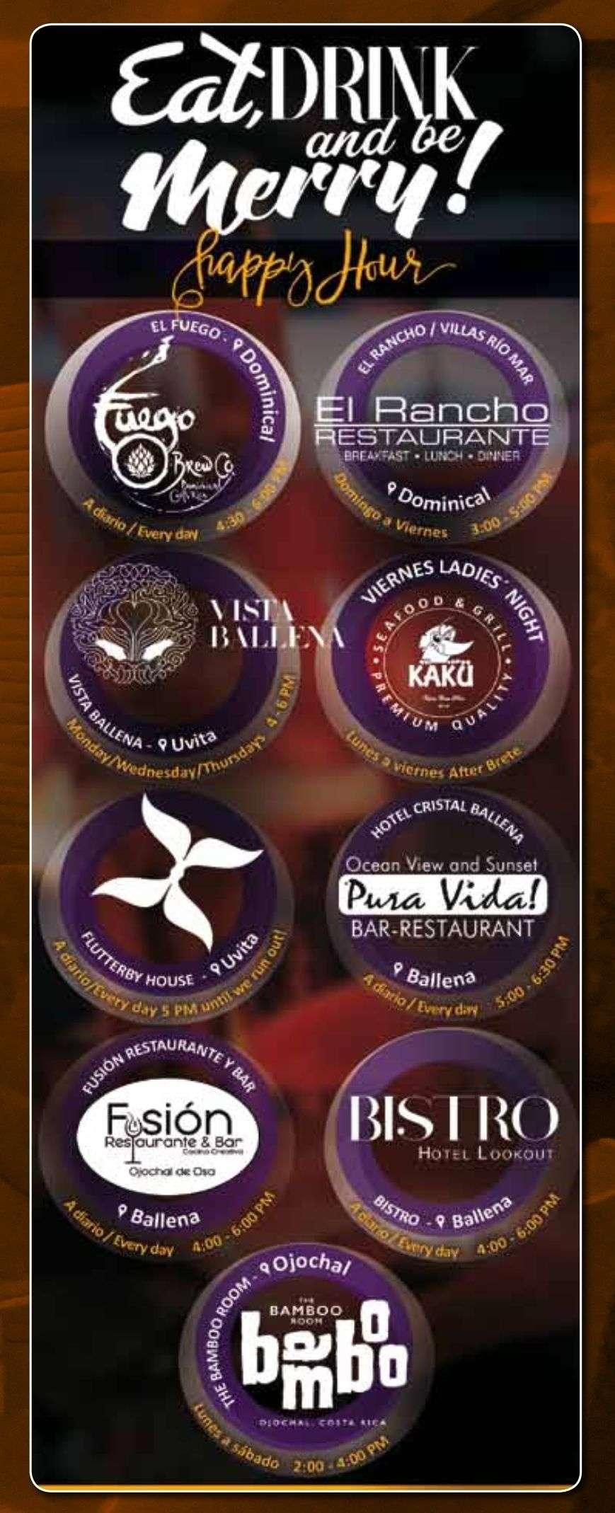 Events in Costa Ballena, Osa Peninsula and Costa Rica