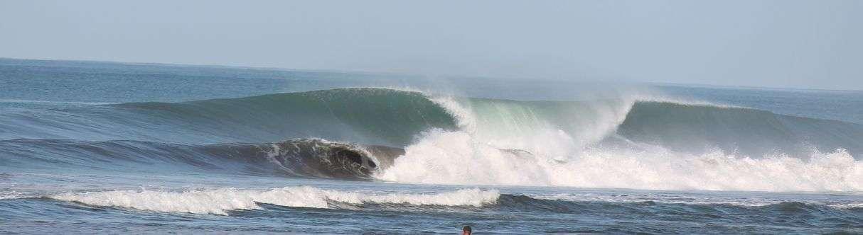 Surfing Playa Dominical, the best kept secret surf spot