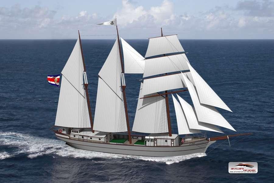 Café en barco de vela