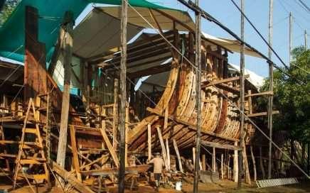 Café en barco de vela - 'Coffee Under Sail