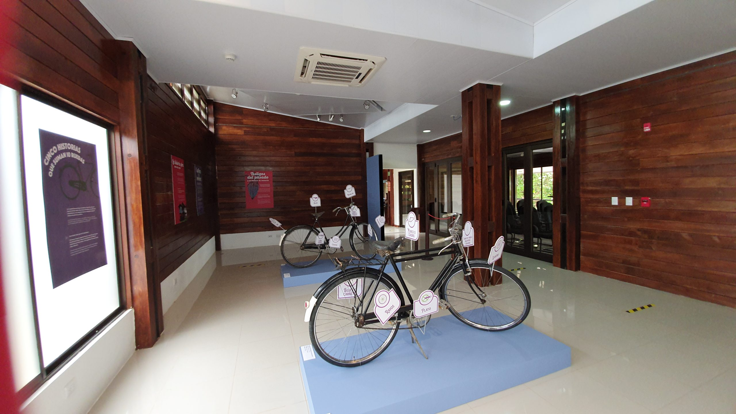 In Osa the history travels by bicycle