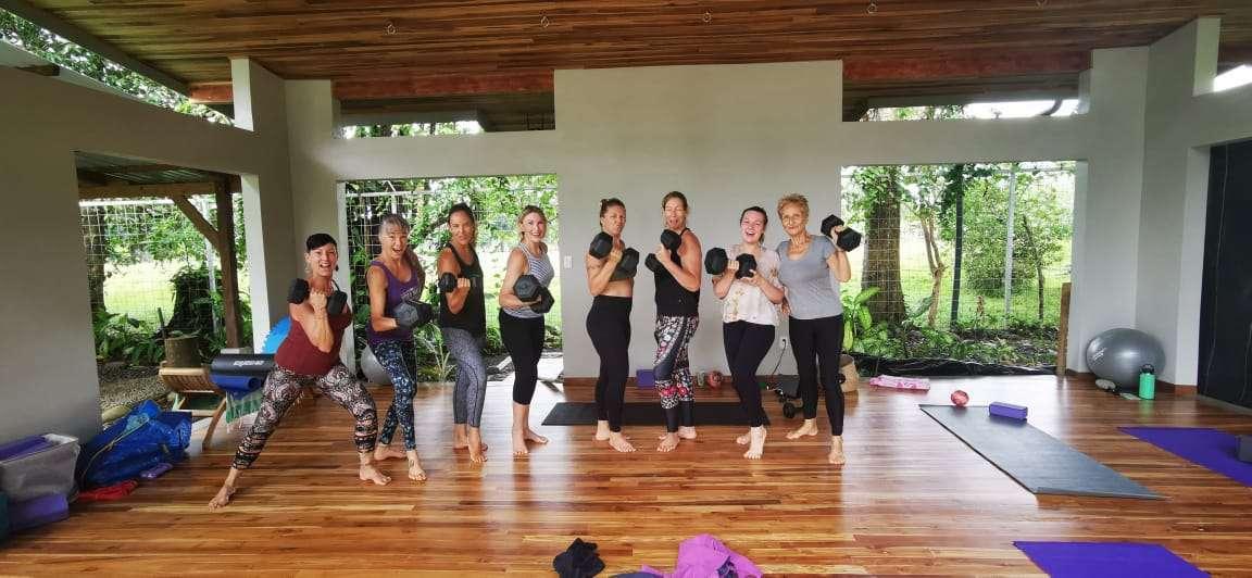 A new addition to Bahia is Yoga Maya Uvita