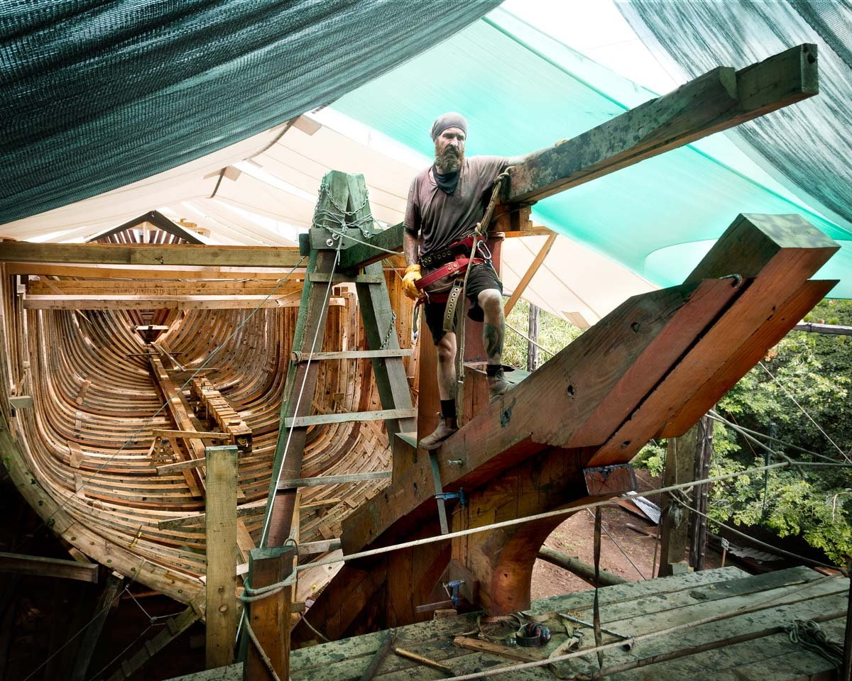 Das Segelschiff Ceiba vereint Handel und Nachhaltigkeit