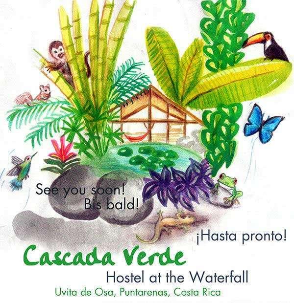 Cascada Verde Hostel Uvita
