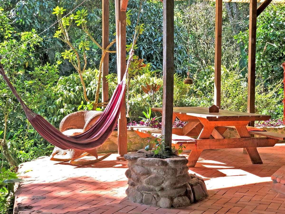 Acogedor Hostal Cascada Verde en Uvita