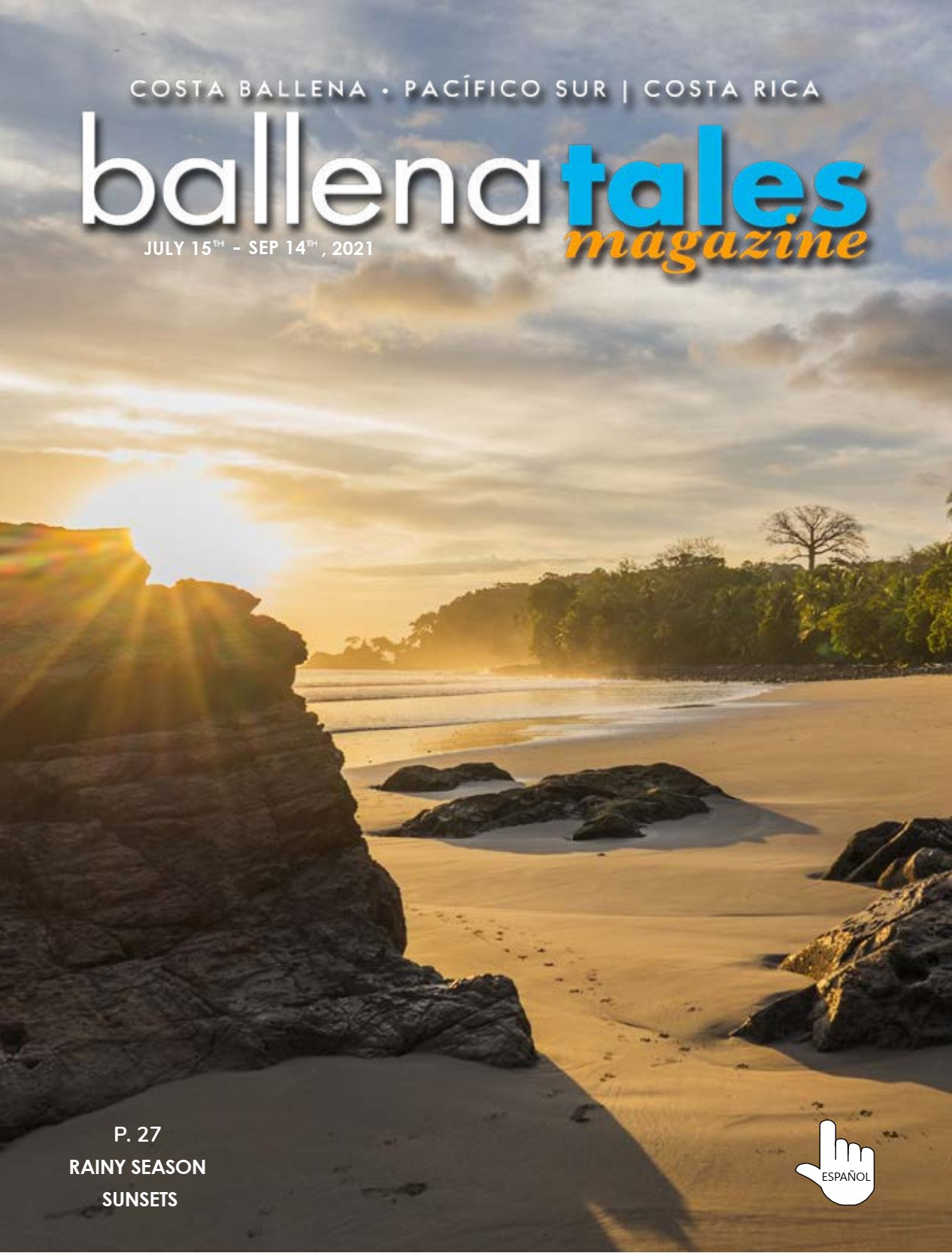 Revista Ballena Tales 79, guía para viajeros, residentes e inversionistas