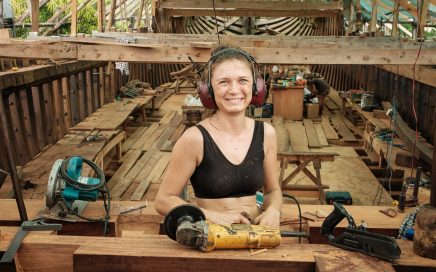 Die Ceiba – das größte Handelsschiff der Welt aus Holz